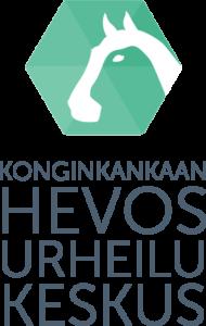 Konginkankaan hevosurheilukeskus -logo
