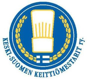 Keski-Suomen Keittiömestarit ry:n logo