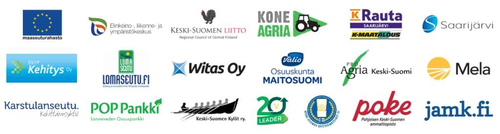 Keski-Suomen Maaseutugaala 2017 yhteistyökumppanit
