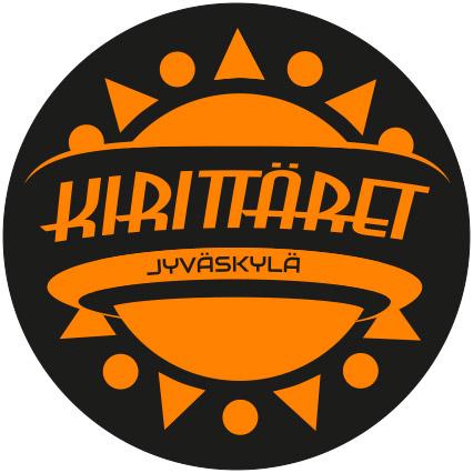 Kuvassa Kirittärien logo, jossa linkki Kirttärien verkkosivuille.
