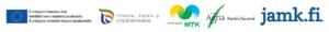 Logokollaasi (EU, ELY, MTK Keski-Suomi, ProAgria Keski-Suomi ja JAMK)