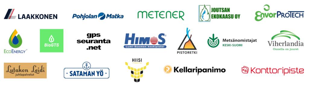 AZKS2018 sponsorit ja tukijat
