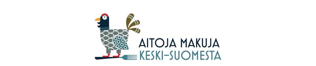 Aitoja makuja Keski-Suomesta -logo vaaka sivustolle