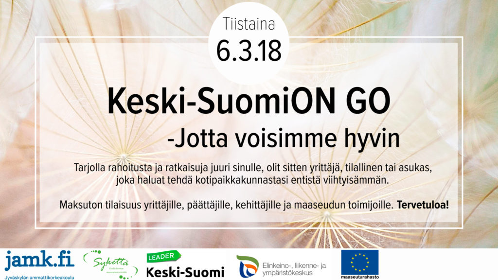 Keski-SuomiON GO 6.3.2018 mainosbanneri
