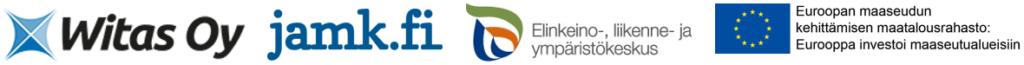 Logot: Witas-JAMK-ELY- ja EU:n maaseuturahaston