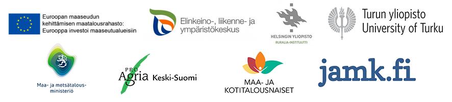 Logot EU ELY HY_Ruralia UTU MMM ProAgriaKS MKN JAMK