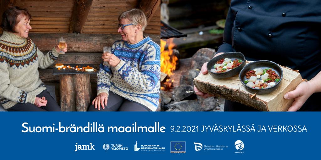Suomi- brändillä maailmalle tapahtuma 9.2.2021 Jyväskylässä