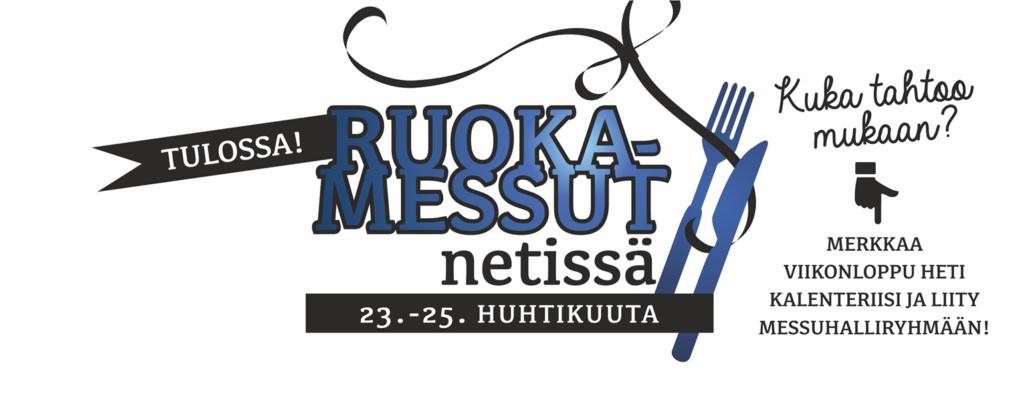 Ruokamessut netissä -tapahtuman logo