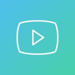 Kuvassa YouTuben logo, jossa linkki Amazing Keski-Suomen YouTube-kanavalle.